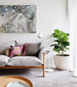 green plants as home decor