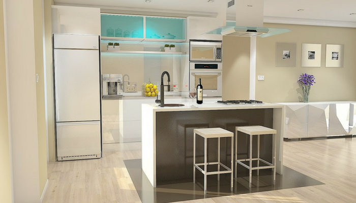 Kitchen renovation project modern